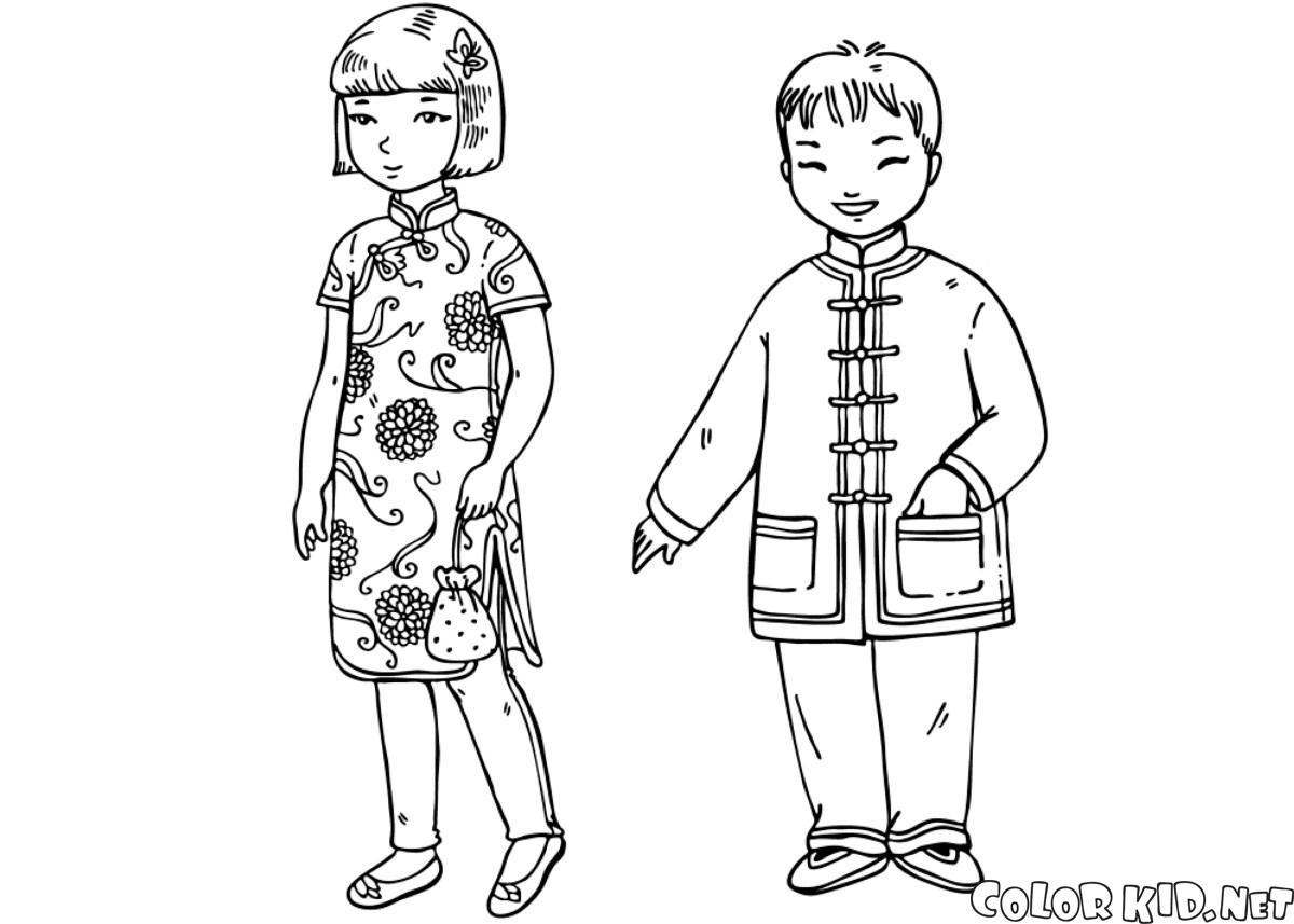 أطفال صينيون