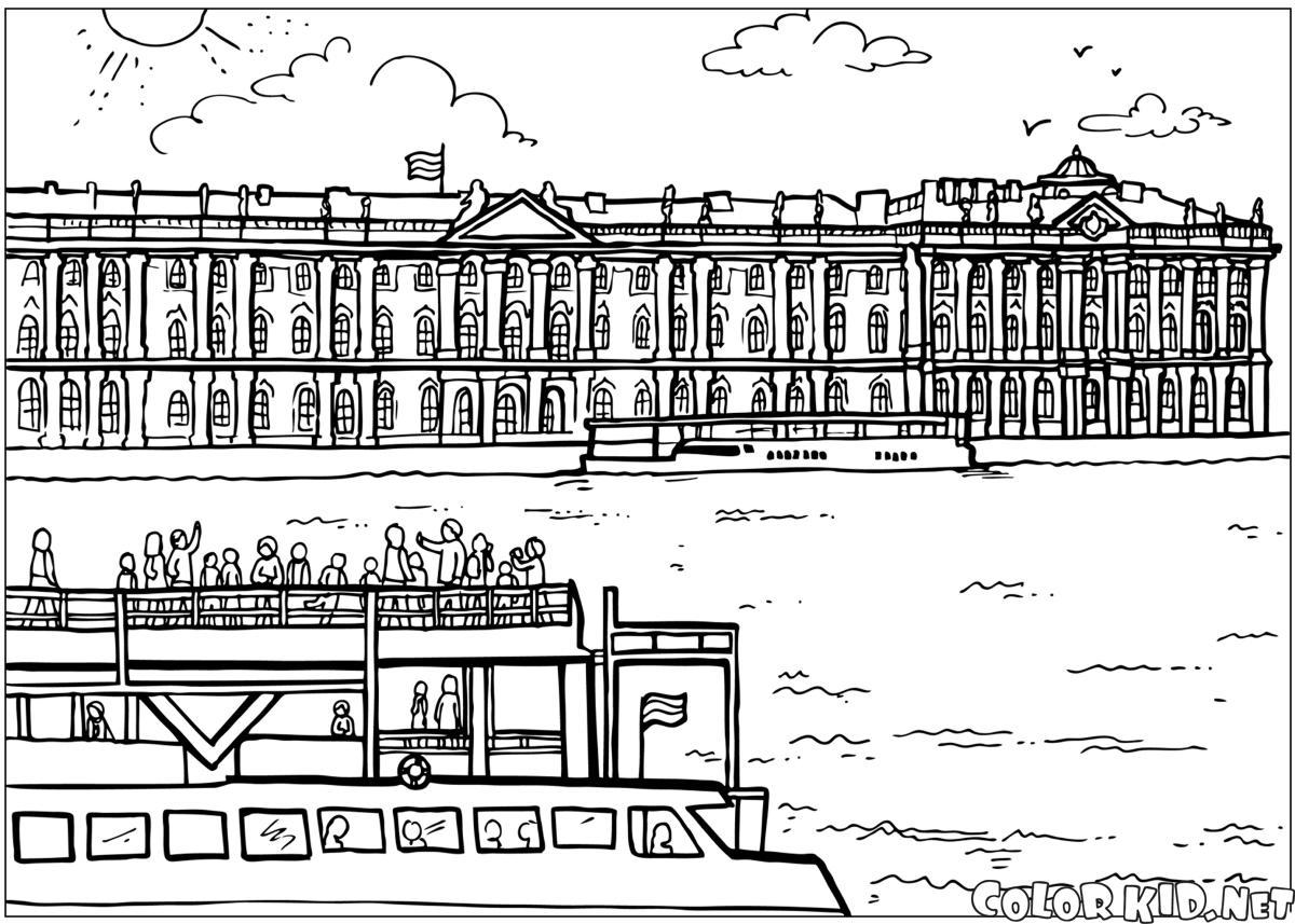 قصر الشتاء في سان بطرسبرج
