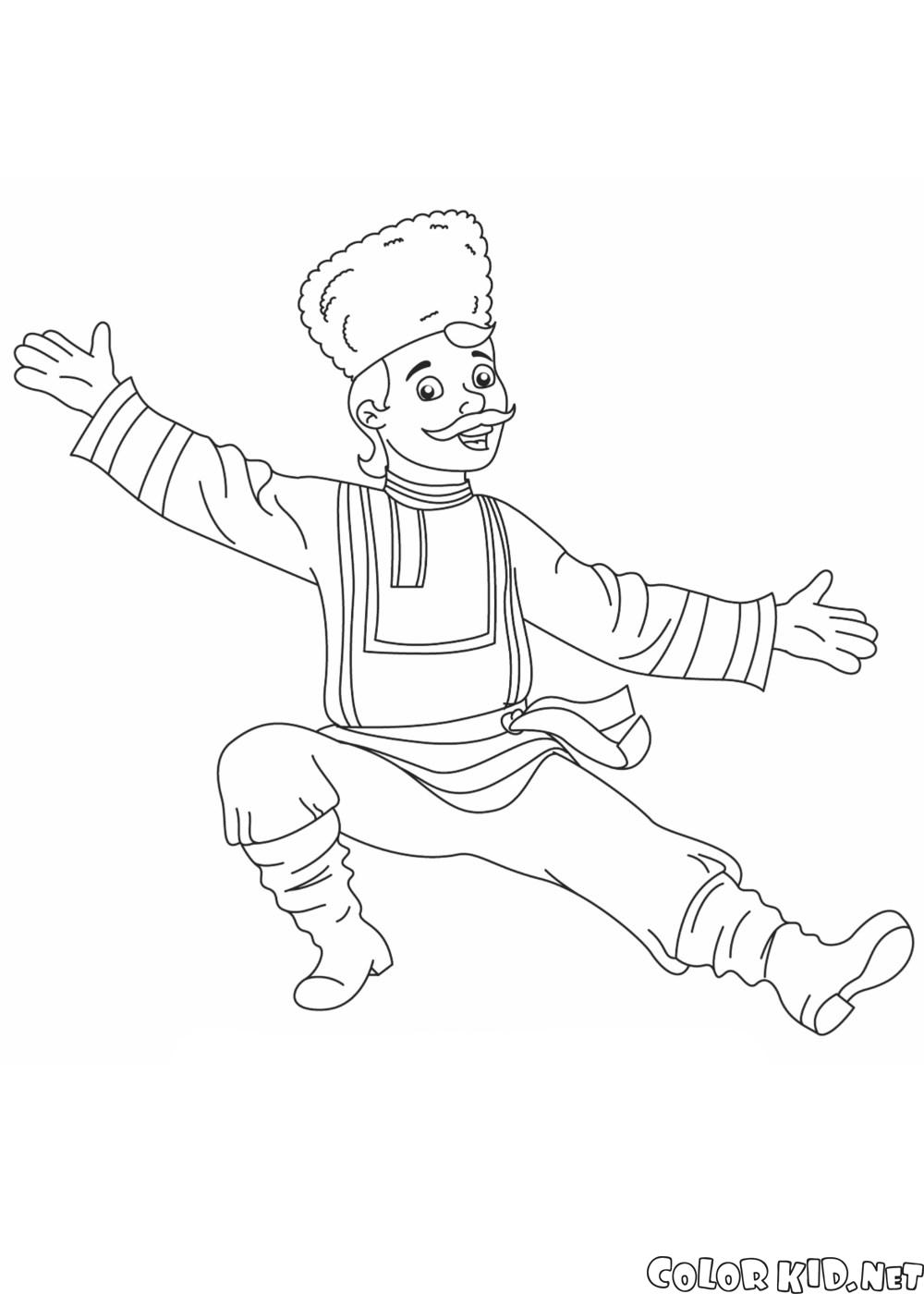 راقصة روسية