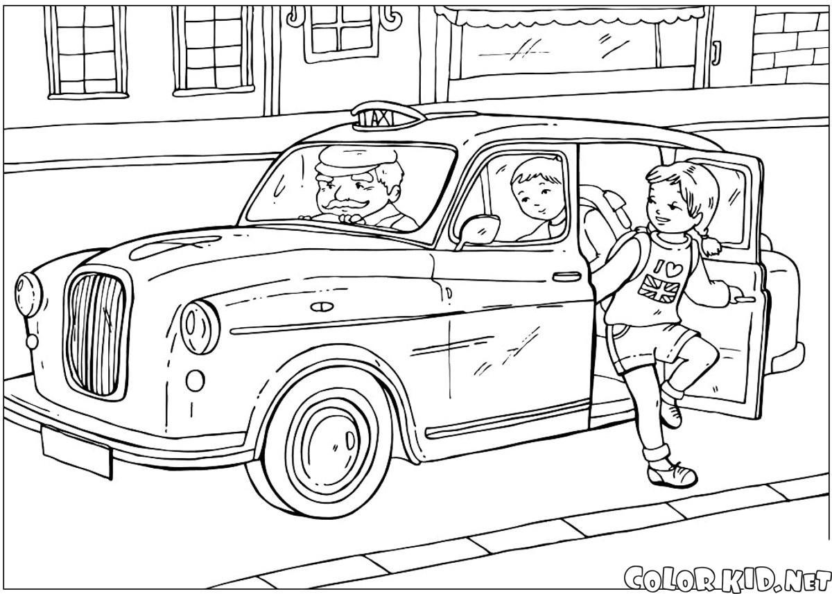 سيارة أجرة بريطانية