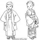 أطفال يابانيون