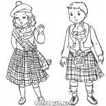 أطفال أسكتلنديون