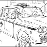 سيارة أجرة في نيويورك